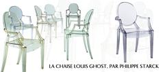 Le fauteuil Louis Ghost par Philippe Starck Le fauteuil Louis Ghost par Philippe Starck philippe11