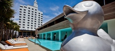 Hotel South Beach Miami par Philippe Starck et Lenny Kravtiz  Hotel South Beach Miami par Philippe Starck et Lenny Kravtiz  south1