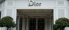 Dior: le magasin de luxe à Avenue Montaigne Dior: le magasin de luxe à Avenue Montaigne dior