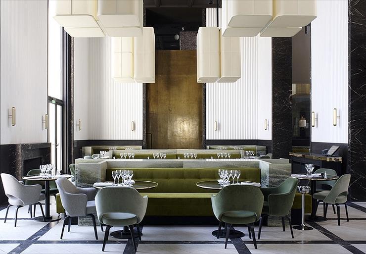 « L'architecte, designer et scénographe Joseph Dirand a été nombré créateur de l'année par les responsables de l'organisation du salon Maison & Objet »