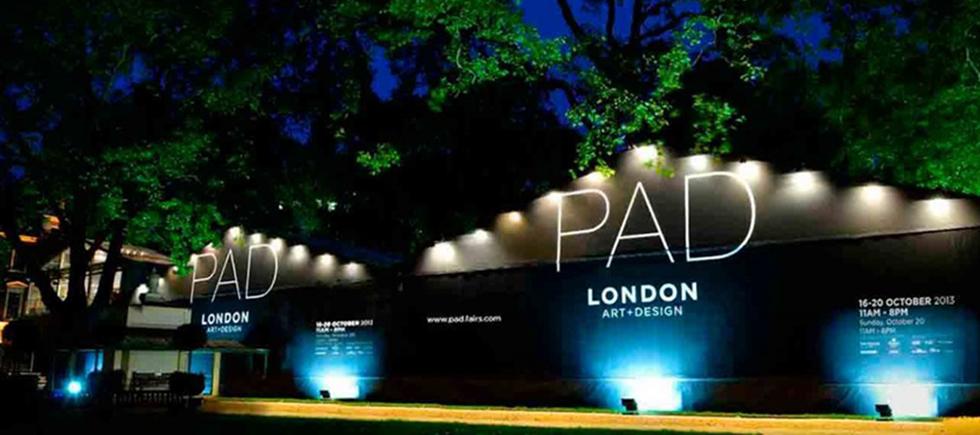 La Foire d'Art PAD Londres ou Pavilion d'Art & Design de Londres, si vous préférez, comprends des œuvres exceptionnelles de l'art moderne, du design, des arts décoratifs, de la photographie, des bijoux et de l'art tribal depuis 1860 jusqu'à aujourd'hui PAD Londres 16-20 Octobre PAD Londres 16-20 Octobre Sem T  tulo