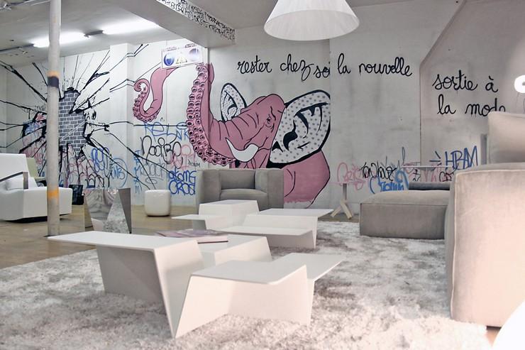 « Ligne Roset, enseigne emblématique du design, ouvrira son nouveau showroom à Paris, rue Réaumur en Février 2014. »