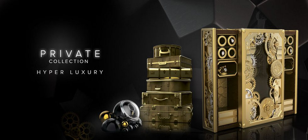 "FOCUS SUR LA LA ""PRIVATE COLLECTION"" DE BOCA DO LOBO luxury safes private collection hyper luxury"