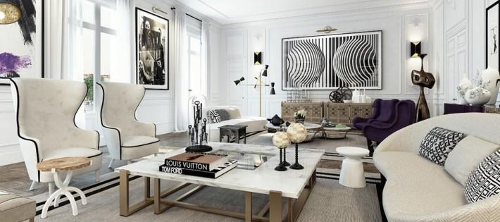 Apartement design à Saint-Germain-des-Prés Apartement design à Saint-Germain-des-Prés appartement saint germain paris main 710x315