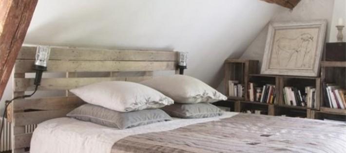 20 Inspirations d'intérieurs rustiques 20 Inspirations d'intérieurs rustiques rustic bedroom interior palete bed 710x315