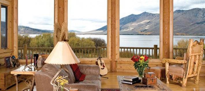 20 Inspirations d'intérieurs rustiques 20 Inspirations d'intérieurs rustiques rustic cabin interior design 710x315