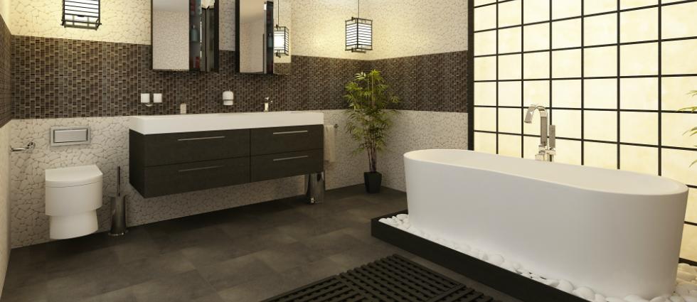 Nos idées déco pour une salle de bain chaleureuse. Nos idées déco pour une salle de bain chaleureuse sdb noir et blanc 11