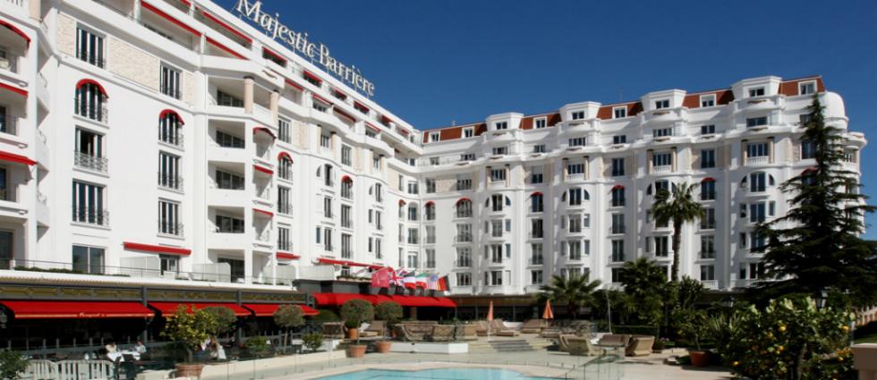 L'hôtel Barrière le Majestic-1 L'Hôtel Majestic Barrière à Cannes L'Hôtel Majestic Barrière à Cannes Lh  tel Barri  re le Majestic 1