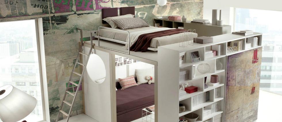 Un lit mezzanine - 1 Un lit mezzanine pour votre enfant Un lit mezzanine pour votre enfant Un lit mezzanine 1