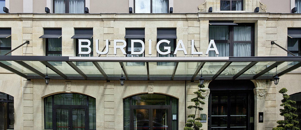 Burdigala - 1 L'hôtel Burdigala à Bordeaux L'hôtel Burdigala à Bordeaux Burdigala 1