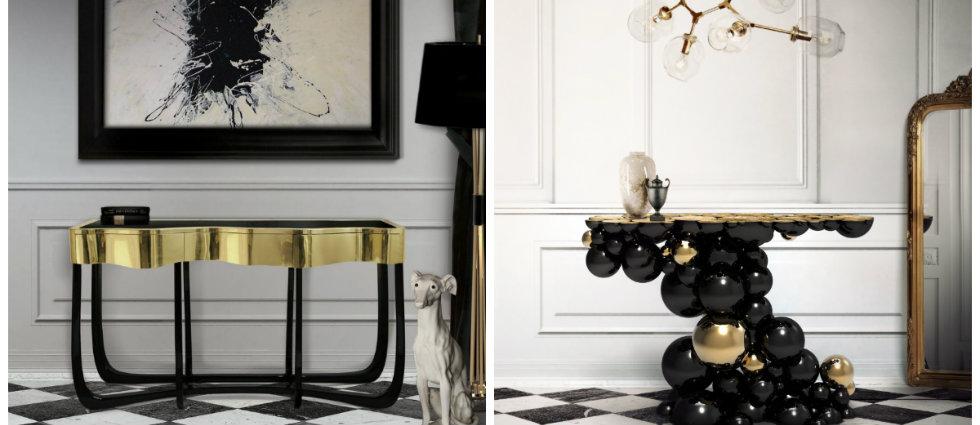 Tables console moderne 5  idées de Tables console moderne pour votre décoration capa10