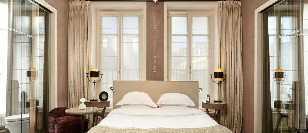 pavillon des lettres Paris Hôtels: Le Pavillon des Lettres par Kerylos Intérieurs fi4