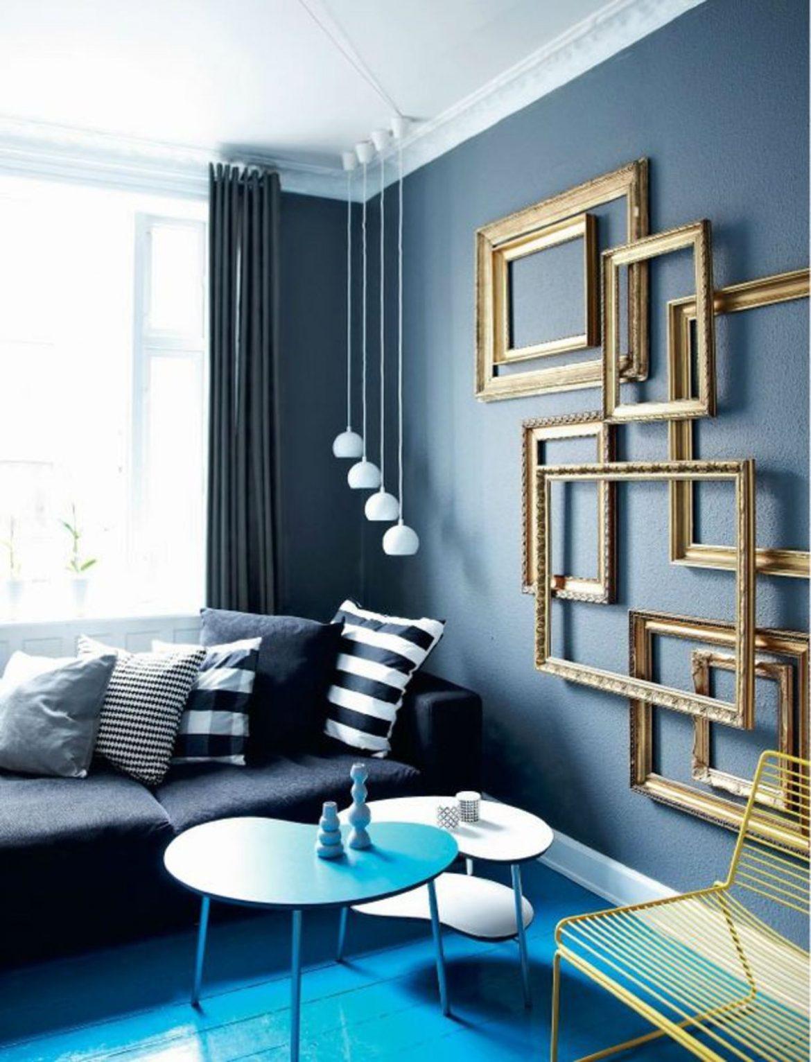 tendances design 5 tendances design pour créer des maisons au style parisien du noir releve de bleu et d or 5141179