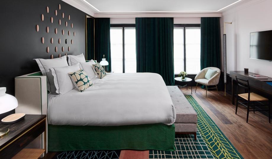 Roch Hotel & Spa Paris conçu par Sarah Lavoine Sarah Lavoine Roch Hotel & Spa Paris conçu par Sarah Lavoine le roch bedroom S 01 r