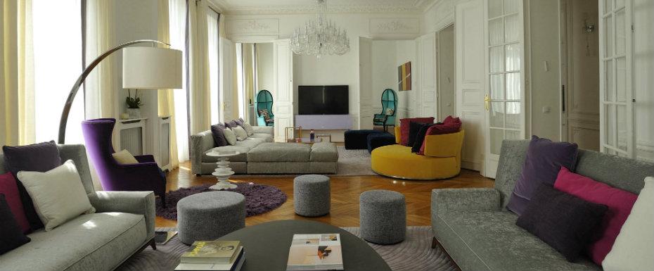 Découvrez le style moderne de cet appartement à Paris.  Découvrez le style moderne de cet appartement à Paris. Youll Love the Interiors of this Haussmann Style Apartment in Paris