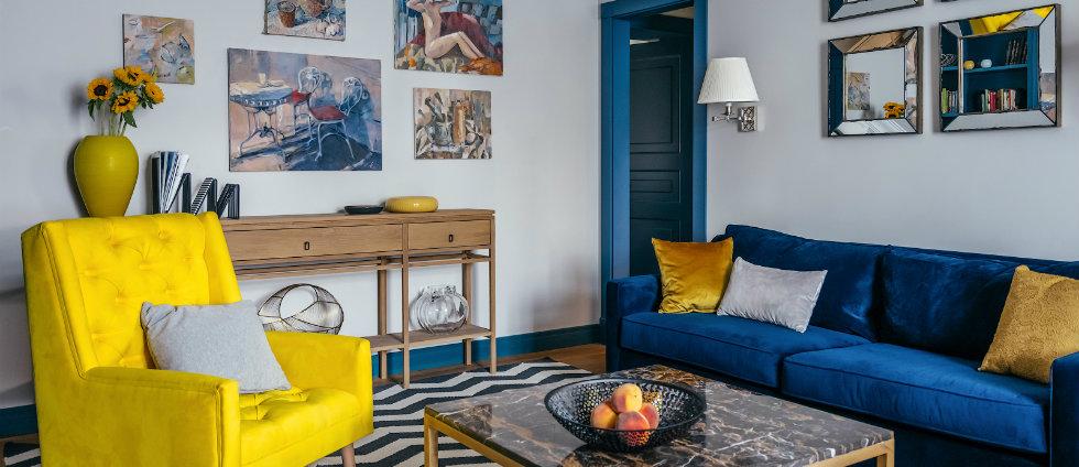 Une Palette de Bonheur Unique Dans Un Appartement de luxe  à Moscou capa