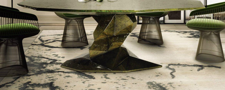 Prévision de Tendances des Couleurs 2018: Gris Neutre Bonsai Dining Table