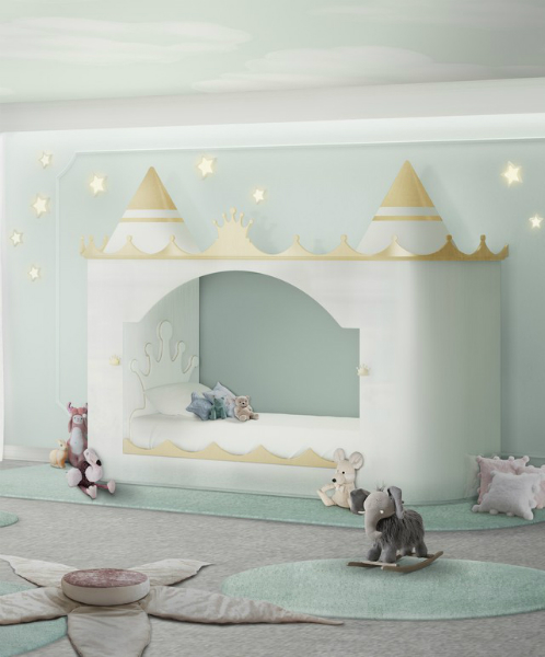Un Décor Genre Neutre Pour Les Enfants Que Vous Aimerez A Royal Gender Neutral Kids Bedroom Theme Youll Absolutely Love 3