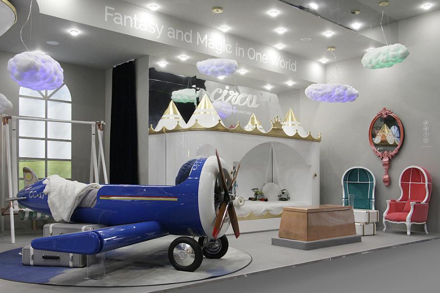 Le mobilier Circu Magical fait ses débuts sur LUXE TV isaloni italy apr 2018 circu magical furniture 3
