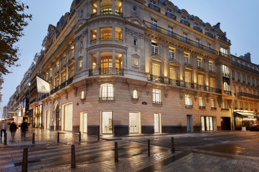 Un Bâtiment Historique des Champs-Élysées abrite Désormais un Nouvel Apple Store fffff