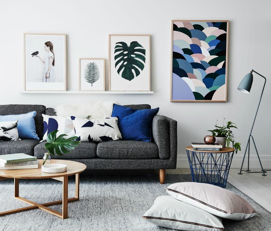 Nous avons trouvé les Idées de Salons Scandinaves que vous Cherchiez more 5 cobalt blue living room accessories beautiful