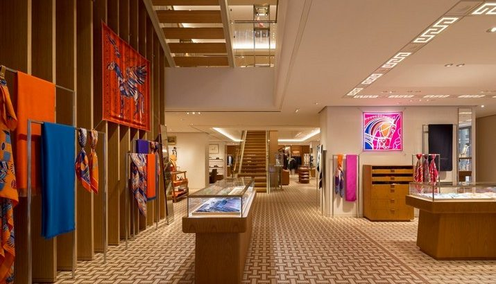 Le Magasins d'Hermès á Hong Long par RDAI Paris