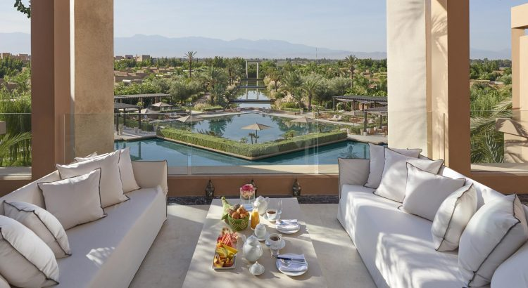 5 Palaces Maroccains où passer ses Vacances 2019 marrakech suite royal terrace 750x410