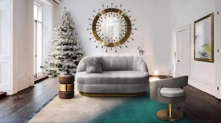 Idées de décoration de Noël de Salon Id  es de d  coration de No  l de Salon 3