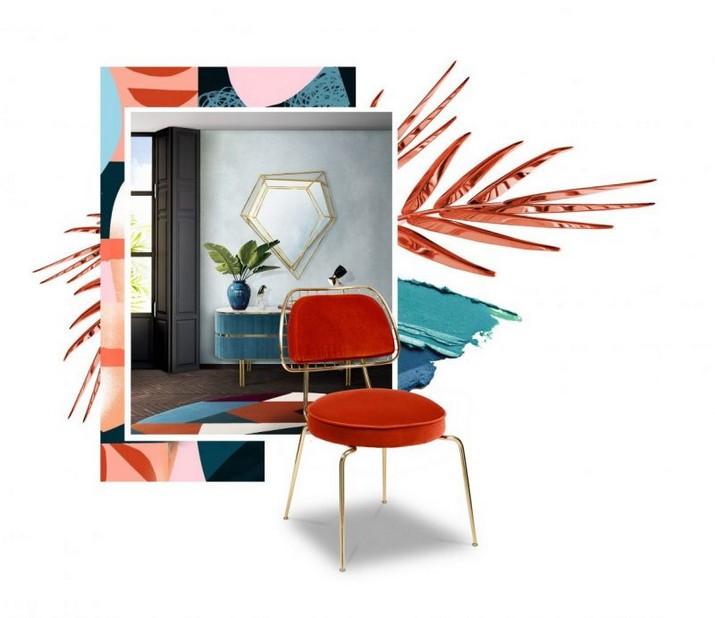 Pantone Colors Inspirations Pour Mobilier Mid-Century La R  g  n  ration est le Th  me dInspiration de Maison Et Objet 2020 1