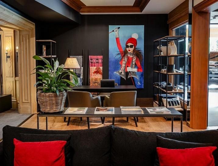 Voir le Merveilleux Hôtel Gstaad par Alberto Pinto Studio Voir le Merveilleux H  tel Gstaad par Alberto Pinto Studio 3