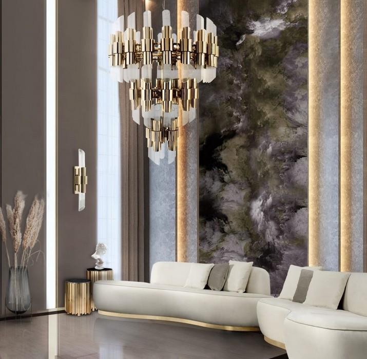 5 Lustres Modernes pour les Salons Contemporains 5 Lustres Modernes pour les Salons Contemporains 1