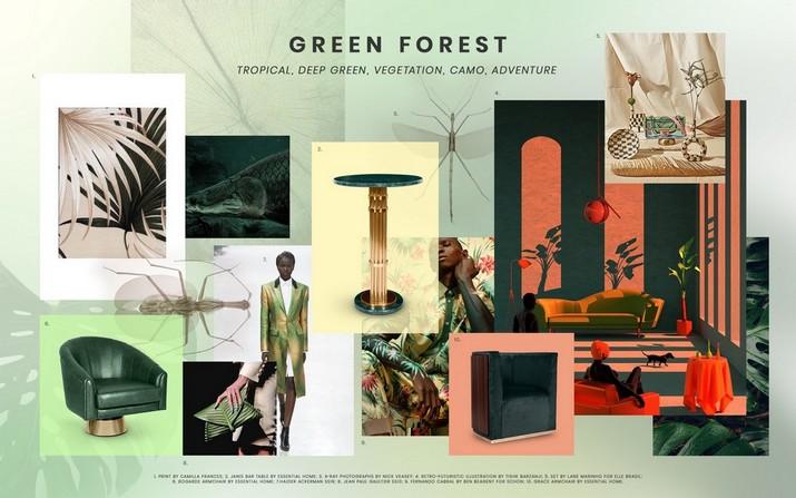 Tendances couleurs 2020: 10 Moodboards avec Fauteuils Incroyables Tendances couleurs 2020 10 Moodboards avec Fauteuils Incroyables 3