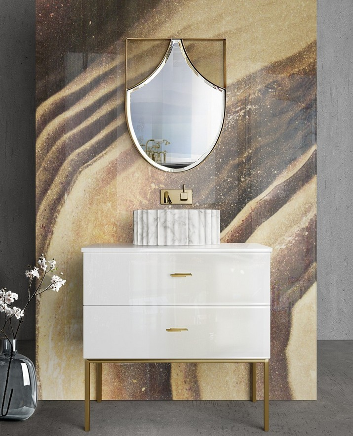 5 Miroirs Muraux Dorés Parfaits pour Votre Salle de Bain 5 Miroirs Muraux Dor  s Parfaits pour Votre Salle de Bain 2