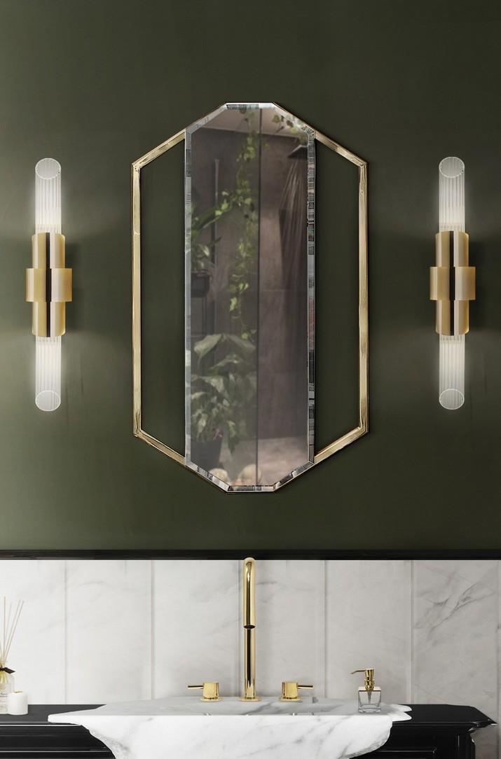 5 Miroirs Muraux Dorés Parfaits pour Votre Salle de Bain 5 Miroirs Muraux Dor  s Parfaits pour Votre Salle de Bain 3