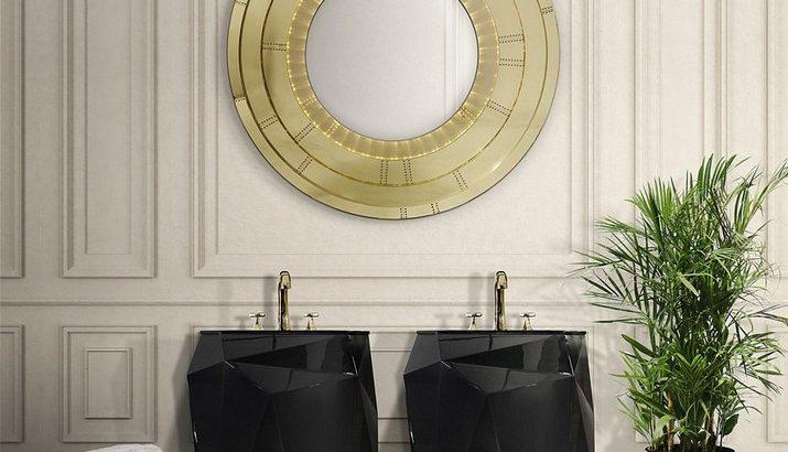 5 Miroirs Muraux Dorés Parfaits pour Votre Salle de Bain 5 Miroirs Muraux Dor  s Parfaits pour Votre Salle de Bain 5 715x410
