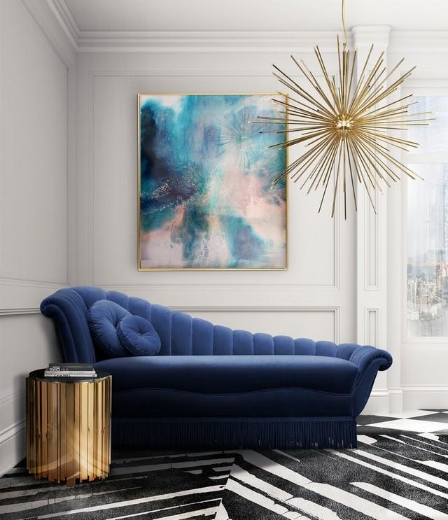 Idées de Design d'Intérieur avec la Couleur Pantone de l'Année 2020 Id  es de Design dInt  rieur avec la Couleur Pantone de lAnn  e 2020 5