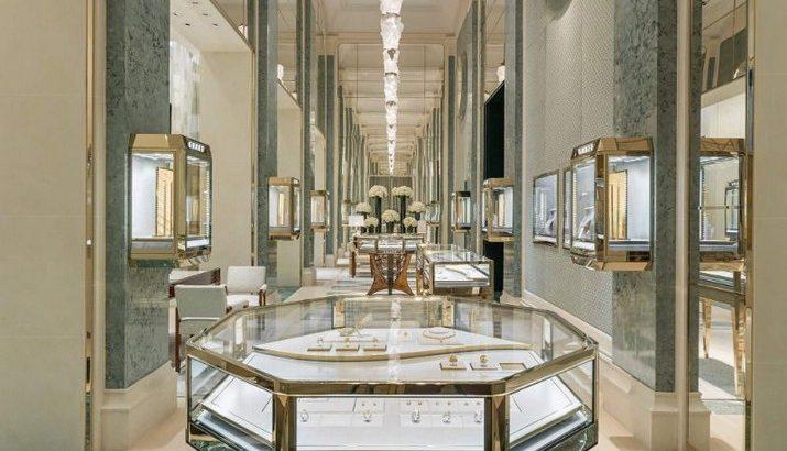 Peter Marino a conçu le magasin de luxe Graff à Paris Peter Marino a con  u le magasin de luxe Graff    Paris 1 715x410