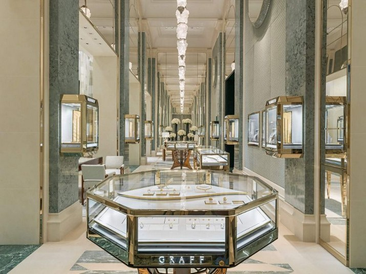 Peter Marino a conçu le magasin de luxe Graff à Paris Peter Marino a con  u le magasin de luxe Graff    Paris 1