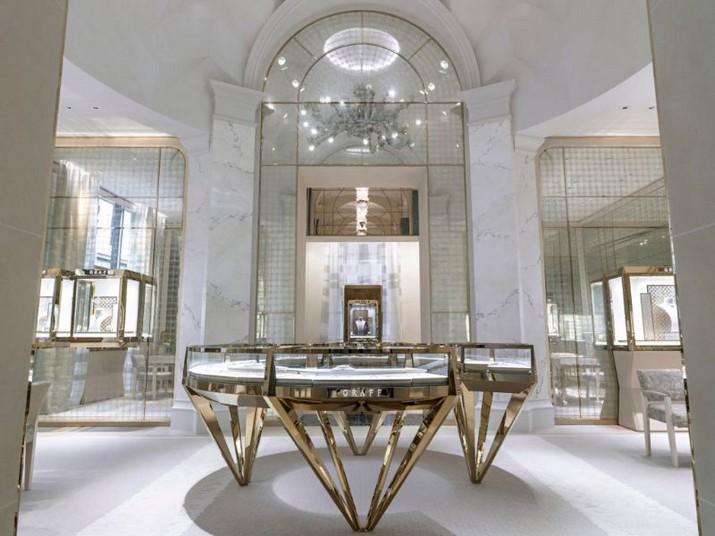 Peter Marino a conçu le magasin de luxe Graff à Paris Peter Marino a con  u le magasin de luxe Graff    Paris 2