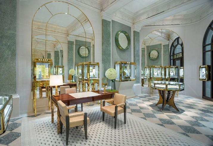 Peter Marino a conçu le magasin de luxe Graff à Paris Peter Marino a con  u le magasin de luxe Graff    Paris 3