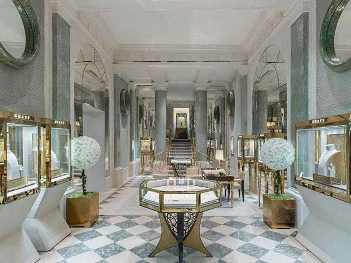 Peter Marino a conçu le magasin de luxe Graff à Paris Peter Marino a con  u le magasin de luxe Graff    Paris 4