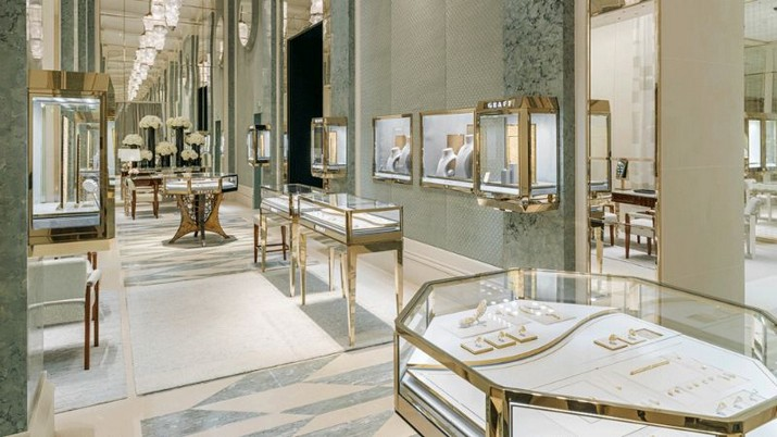 Peter Marino a conçu le magasin de luxe Graff à Paris Peter Marino a con  u le magasin de luxe Graff    Paris 5