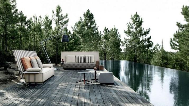 Philippe Starck a Conçu des meubles d'extérieur pour B&B Italia Philippe Starck a Con  u des meubles dext  rieur pour BB Italia 5