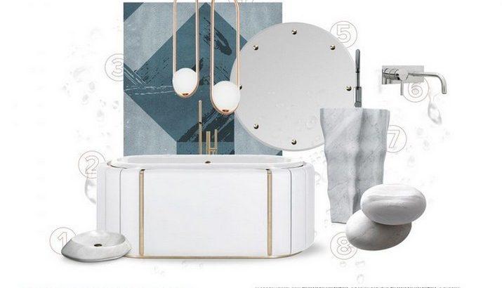 Tendances de Décoration de Salle de Bain – Luxe Minimal Tendances de D  coration de Salle de Bain Luxe Minimal 1 715x410