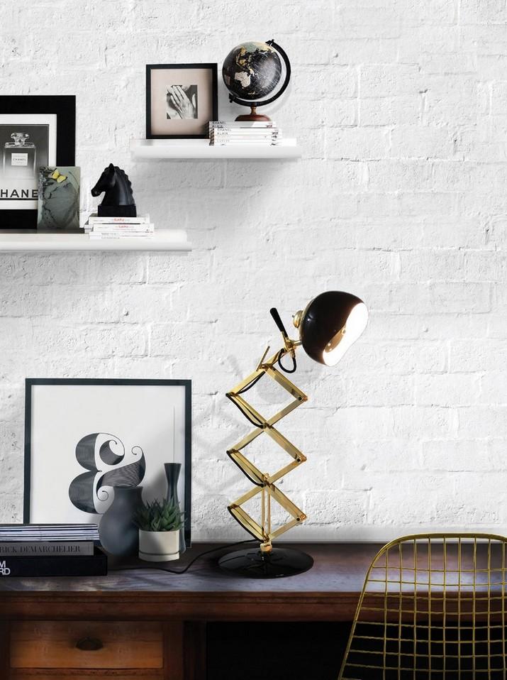 7 Lampes de Table au Milieu du Siècle pour la Décoration de Votre Bureau 25 Id  es de Meubles Incroyables pour votre Projet de Bureau 5 1