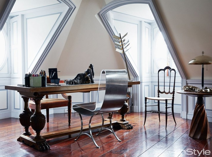 Penthouse de luxe de Christian Louboutin conçu par Jacques Grange Penthouse de luxe de Christian Louboutin con  u par Jacques Grange 1