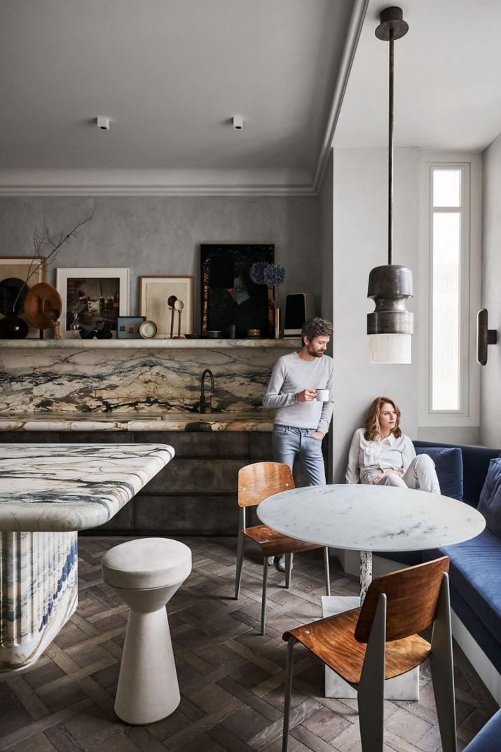 Jetez un œil à l'appartement Somptueux de Joseph Dirand à Paris Jetez un   il    lappartement Somptueux de Joseph Dirand    Paris 4