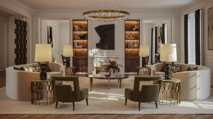 L'Appartement Parisien Éternel: Mélange de Design Classique et Contemporain LAppartement Parisien Eternel Melange de Design Classique et Contemporain 2