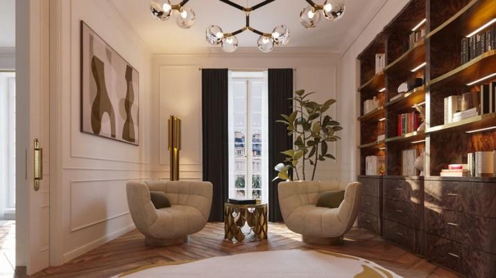 L'Appartement Parisien Éternel: Mélange de Design Classique et Contemporain LAppartement Parisien Eternel Melange de Design Classique et Contemporain 7