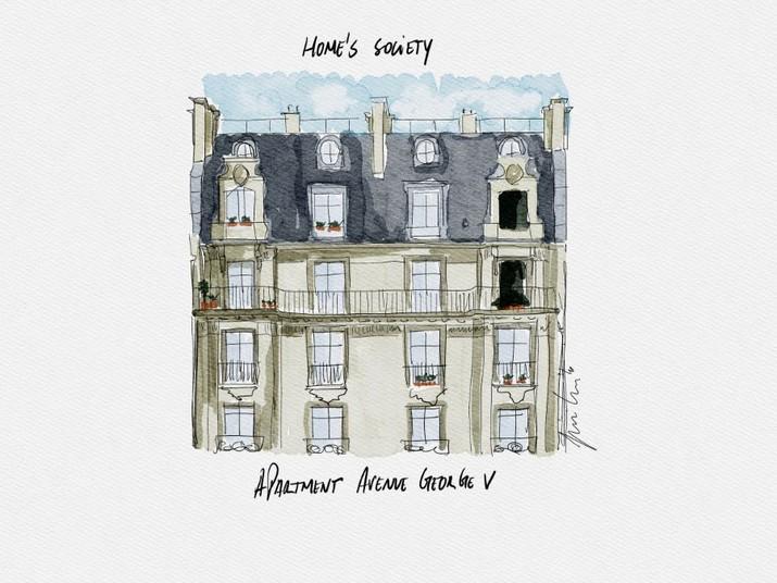 L'Appartement Parisien Éternel: Mélange de Design Classique et Contemporain LAppartement Parisien Eternel Melange de Design Classique et Contemporain 9